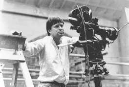 Terry Gilliam filming BRAZIL